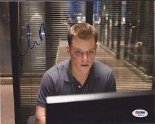 MATT DAMON Signed 8 x10 PHOTO with PSA/DNA COA