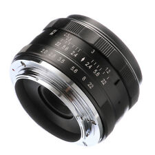 Meike 50mm F2 Lens Manual Focus for Olympus Panasonic M4/3 Micro Four Thirds MFT