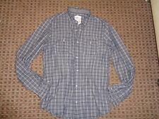 """NEW LOOK-MEN'S SHIRT SIZE M-L 41-43"""" CHEST 15.5"""" COLLAR CASUAL SMART CHECK WORK"""