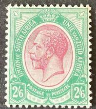 South Africa KGV 1913-24 SG14 2/6 Purple & Green Mint Cat £55 Superb