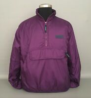 EDDIE BAUER EBTEK Men's Packable Thinsulate Lite Loft Pullover Jacket-Purple-SM