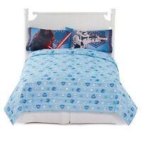 Disney Star Wars Force Awakens Kylo Ren 3pc Full Sheet Set pillow case Brand New