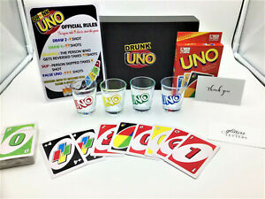 Drunk UNO Game Set - Perfect For Adults Game Night!! Send via Au Express Post