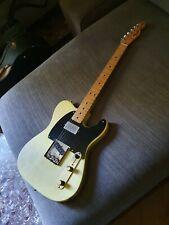 Fender Telecaster vintage 1972 blonde american humbucker