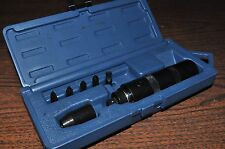 "LISLE 29200 HAND IMPACT SCREW DRIVER WITH 3/8"" BIT HOLDER & 5 BITS"