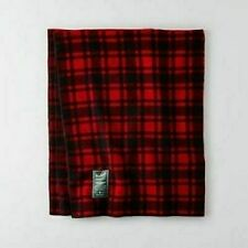 "WOOLRICH X AMERICAN EAGLE OUTFITTERS AEO BUFFALO PLAID BLANKET 50"" X 60"" NEW"