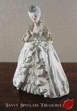 Florence Ceramics Pasadena Porcelain Figurine Marie Antoinette with Compact