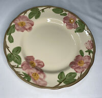 "Set Of 2 FRANCISCAN DESERT ROSE DINNER PLATES 10 5/8"" Made In England"