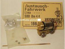 Verbeck 166  Faulhaber Austauschfahrwerk für Lima 208144 Bm4/4 ,