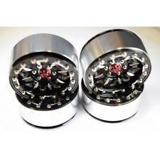 "Hot Racing BLW22SLB01 2.2"" Rock Crawler Aluminum B Type Beadlock Wheels (4)"