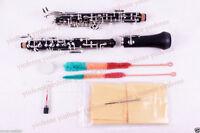 New Oboe Professional Sweet Sound C key Ebonite Body 3rd Octave left F Resonance
