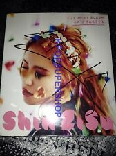 Shin Zi Su 1st Mini Album 20's Party 1 Autographed Signed Promo CD Great Cond.