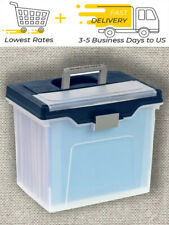"Office Depot Brand Mobile File Box, Letter Size, 11-5/8""H x 13-13/6""W x 10""D"