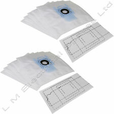 10 x Vacuum Cleaner G Type Cloth Dust Bags & Filter For Bosch Hoover Bag