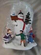 Dept. 56 Village Square Snowman Limited Production 2002
