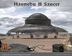 Pegasus 9119 Haunebu II German WWII UFO Flying Saucer Plastic Model Kit 1/144
