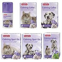 Beaphar Calming Dog Puppy Cat Kitten Spot-On Collar Tablets Home Spray Behaviour
