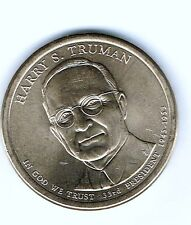 2015-D Denver $1 Harry S.Truman Uncirculated Presidential Dollar!