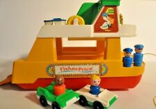 Vintage Fisher Price Ferry Boat 932  complete