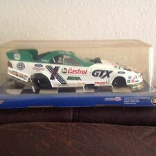 John Force Nhra Castrol 1:24 Diecast Ford Mustang Funny Car Excellent