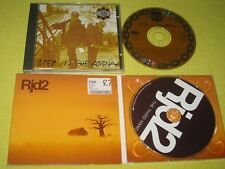 Gang Starr Step In The Arena & Rjd2 ‎The Third Hand 2 CD Albums Hip Hop