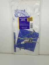 Vintage Star Wars Table Cover 1997 Party Express 54 x 89 1/4 inches Hallmark