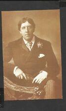 Nostalgia postcard Dublin Born actor/writer Oscar  Wilde 1854-1900