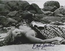 Barbara Bouchet 3 Original Autogramm 8X10 Foto