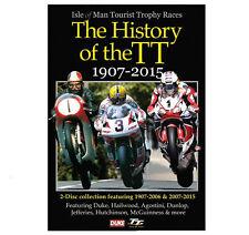 HISTORY OF THE TT 1907 - 2015 DVD - Isle Of Man TT - IOM - 2 Disc by Duke - New