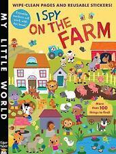 My Little World: I Spy on the Farm Sticker Activity by Jonathan Litton (2015,...