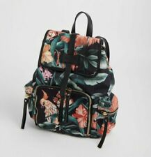 BRAND NEW LADIES OASIS TROPICAL PRINT BACKPACK WITH ADJUSTABLE STRAPS RRP £40.00