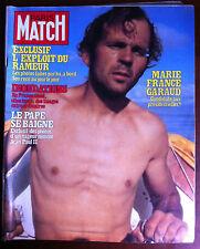 Paris Match 3/10/1980 Marie France Garaud/ Le Pape se baigne/ Inondations