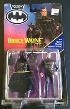Batman Returns Bruce Wayne Action Figure Quick Change Armor MIB AFA Kenner 1991