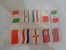 Vintage Sun Soccercards Flags of Soccer Nations 961 to 970 - set of 10