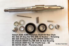 Hobart A120 A200 Planetary Shaft Kit New Style Ns 032 29 Stop Nut Ws 008 13 Wash