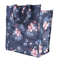 Portable Floral Insulated Thermal Cooler Lunch Box Tote Picnic Storage Bag WE