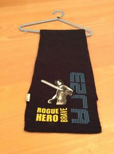 boys clothes 8-12 years George Blue Fine Acrylic Knit Star Wars Rogue Hero Scarf