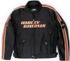 Harley Davidson Leather Jacket TORQUE Race Stripes 98114-06VM NWOT MENS MEDIUM