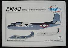 PLANET Models 256 - R3D-1/2 US Navy & Marines Tranport Plane - 1:72 Bausatz KIT