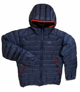Men`s ARCTERYX micro down jacket blue Size L