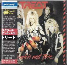 Treat - Scratch And Bite Cd 1990 Japan Import + Obi Mercury ‎– PPD-3100 / Keel