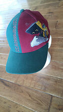 KAWASAKI BIG SCOOP TRACTOR EMBROIDERED CAP HAT ADJUSTABLE LEATHER STRAP USA