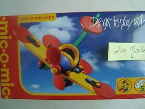 MIC O MIC - 89004 - Set Construction - Aircraft A Propeller - 11.3 CM New IN Box