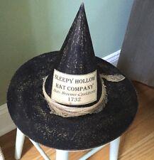 SLEEPY HALLOW WITCH'S HAT COMPANY - Halloween Whimsical Folk Art
