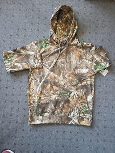 Realtree Edge Camouflage Hooded Sweatshirt Mens Size Large