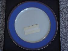 Grande assiette présentation 31cm Rosenthal VERSACE Méandre bleu NEUVE 179€