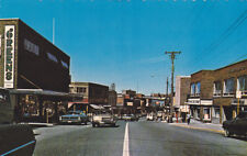 KIRKLAND LAKE , Ontario, Canada, 50-60´s ; Government Road, Looking East