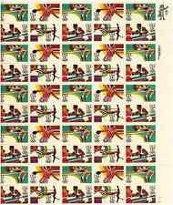 Scott #2048/51 . 13 Cent. Olympics '84. Sheet of 50 @ Fv+ $1