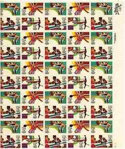 Scott #2048/51...13 Cent.... Olympics '84.... Sheet of  50