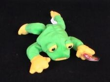 Ty Smoochie The Frog Beanie Baby 1997 Soft Plush Stuffed Animal
